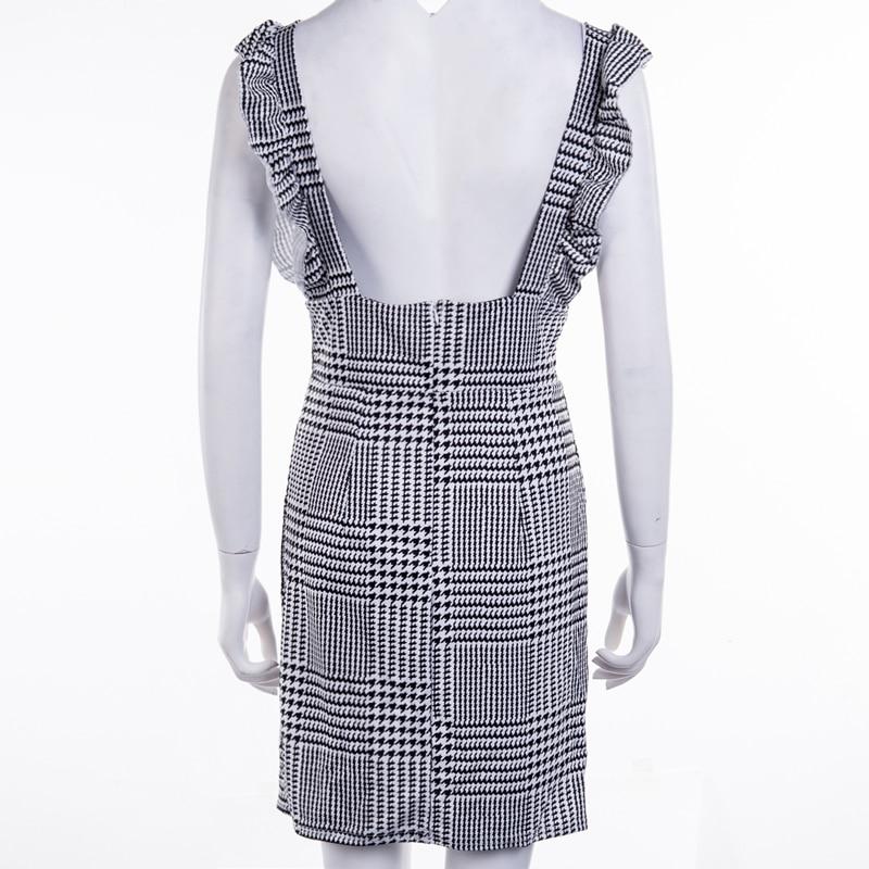 Women's Ruffled High Waist Dress