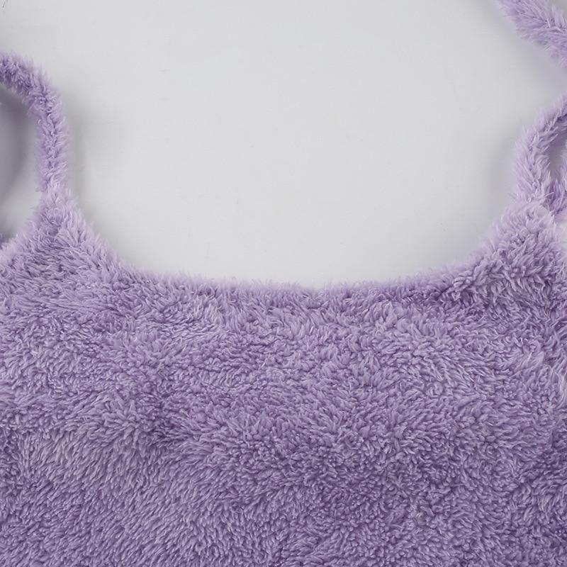 Women's Plush Bodycon Dress