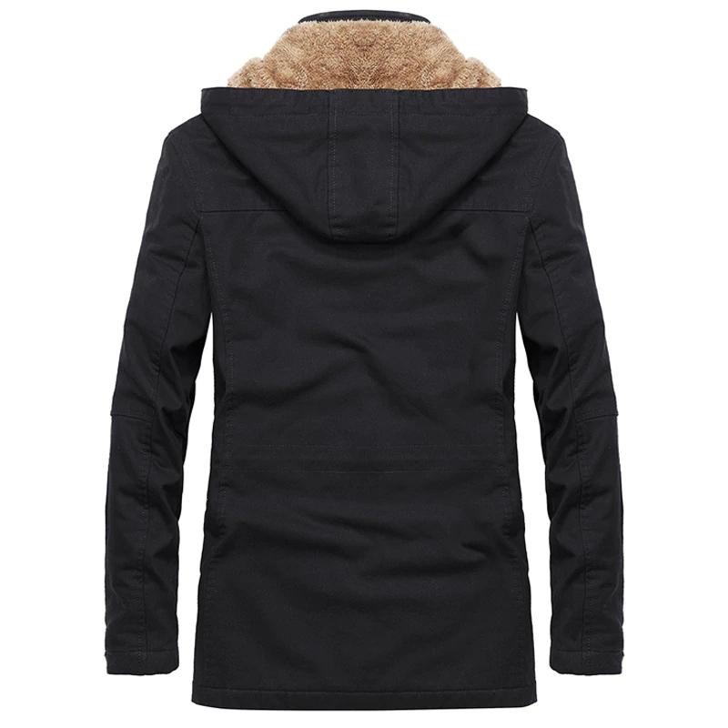 Cotton Men's Winter Coat in Different Sizes